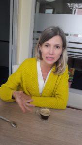 Florence David, une juriste, entend bien damer le pion au maire sortant (© Pierre Nouvelle ).