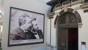 Auguste et Louis Lumière ont ouvert un horizon qui ne cesse de s'élargir, la 11e édition du Festival Lumière va en témoigner ( © Pierre Nouvelle ).