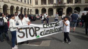 Après le succèse de la marche pour le climat de mi-septembre,la mobilisation va se poursuivre ( © Pierre Nouvelle ).