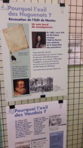 Après Lyon, c'est à Poet-Laval, sur le chemin des Huguenots que le groupe franco-allemand est venu se rappeler d'un pan d'histoire commune ( © Pierre Nouvelle ).