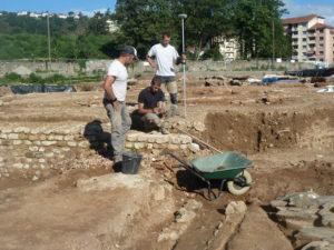 Après une année de fouilles; les découvertes s'avèrent prometteuses ( © Pierre Nouvelle ).