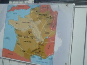 A l'instar de Lyon, le bassin viennois était au carrefour de plusieurs voies qui traversaient la Gaule ( © Pierre Nouvelle ).