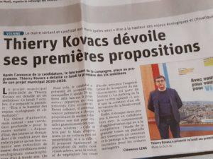 D'ici le 15 mars 2020, les candidats ont encore quatre mois pour populariser leur programme ( © Pierre Nouvelle ).