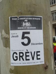 Annoncée de longue date, la grève nationale interprofessionnelle a été une réussite ( © Pierre Nouvelle ).