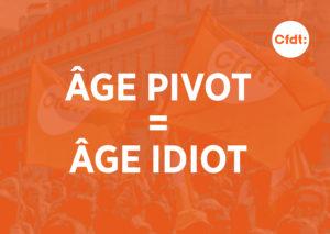 La question de l'âge du départ à la retraite est un poit essentiel pour la CFDT, la CFTC et l'Unsa (© Pierre Nouvelle ).