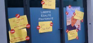 L'a^ge pivot reste toujours un point de vigilance pour les militant.e.s CFDT ( © Pierre Nouvelle ).