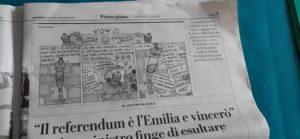 Gli elezioni nel la regione Emilia-Romagne sono molto pericoloso per la democrazia in Italia ( © Pierre Nouvelle ).