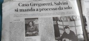 Matteo Salvini exclu du gouvernement italien depuis l'été 2019 se pose en victime et tentera de faire adopter ses positions lors des élections du week-end prochain ( © Pierre Nouvelle ).