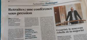 La Conférence de financement va être le nouvel obstacle à franchir pour toutes les organisations syndicales  ( © DR/JDD/Pierre Nouvelle ).