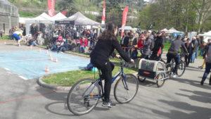 Malgré les aléas du temps, le Vélo-Village du 5 avril 2019 a été une belle réussite, et il devrait en être de même cette année ( © Pierre Nouvelle ).