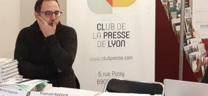 De la presse écrite au média digital, Raphaël Ruffier a situé les évolutions de la presse régionale ( © Pierre Nouvelle ).