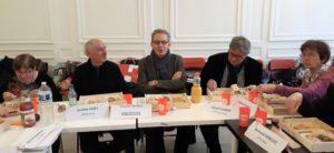 Vincent Rocken, journaliste au Progrès a explique lé fonctionnement du quotidien qui l'emploie ( © Pierre Nouvelle ).