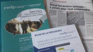 Pendant quatre mois la Commission nationale du débat public a organisé une concertation sur l'avenir des traisn autour de l'agglomération lyonnaise ( © Pierre Nouvelle )