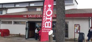 Dernier jour ce lundi 2 mars à Condrieu (Rhône) pour la septième édition des vins bio Rhône-Alpes ( © Pierre Nouvelle ).