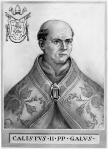 Élu comme 162e pape à l'abbaye de Cluny, Gui de Bourgogne a été couronné dans la cathédrale de Vienne le 9 février 1119 ( © DR/Wikipédia ).