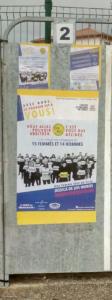 Après le référendum citoyen qu'ils ont organisé en janvier-février 2019, les Gilets jaunes de St-Clair-du-Rhône se présentent aux élections municipales des 15 et 22 mars 2020 ( © DR Daniel Fernandes ).