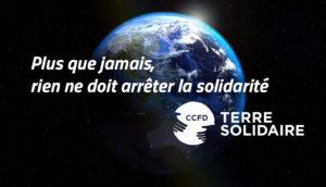 comme seize autres organisations, le CCFD appelle à la solidarité aujourd'hui et à préparer l'avenir ( © DR/CCFD-Terre solidaire ).