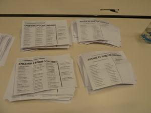 De quatre en mars, les candidat.e.s se sont retrouvé.e.s sur deux listes au second tour, avec une participation aussi faible et une abstention constante  © Pierre Nouvelle ).