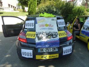 Dans la droite ligne du mouvement né à l'automne 2018, cette liste Gilets Jaunes entend mettre les habitants au cœur de son action municipale ( © Pierre Nouvelle ).