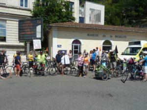 Entre le 17 mai et le 20 juin 2020, le nombre des manifestants à vélo a été multiplié par trois pour la 2e Vélorution dans les rues de Vienne ( © Pierre Nouvelle ).