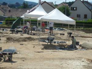 Des tombes chrétiennes des premiers siècles de notre ère ont été mises au jour dans un état d'exceptionnelle conservation ( © Pierre Nouvelle ).