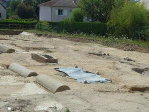 Depuis début juillet 2020, des découvertes archéologiques d'importance ont été faites à Saint-Pantaléon, un des quartiers d'Autun en Saône-et-Loire ( © Pierre Nouvelle ).